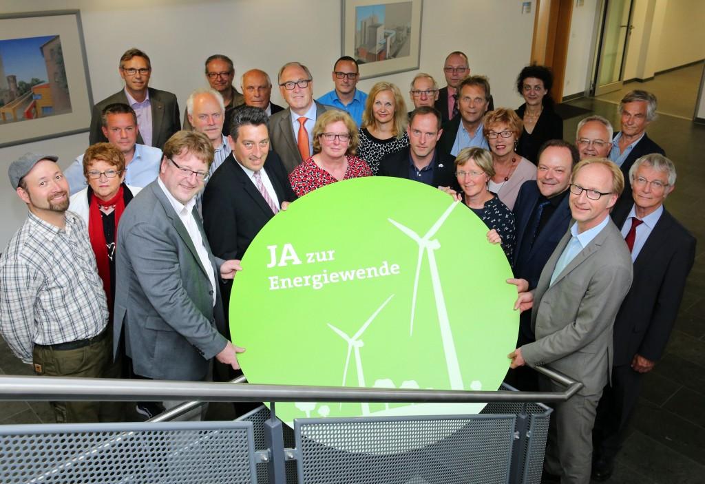 Städtische Werke AG,  Windpark Vertragsunterzeichnung am 28. Juni 2017